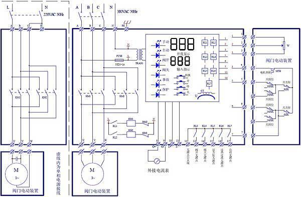 智能电动阀门控制器图片